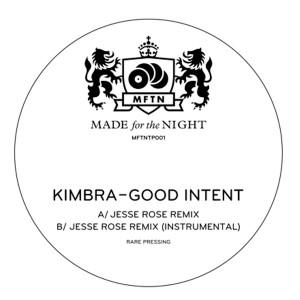 "Kimbra/GOOD INTENT JESSE ROSE REMIX 12"""