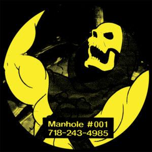 "DJ Skelector/MAN HOLE #001 12"""