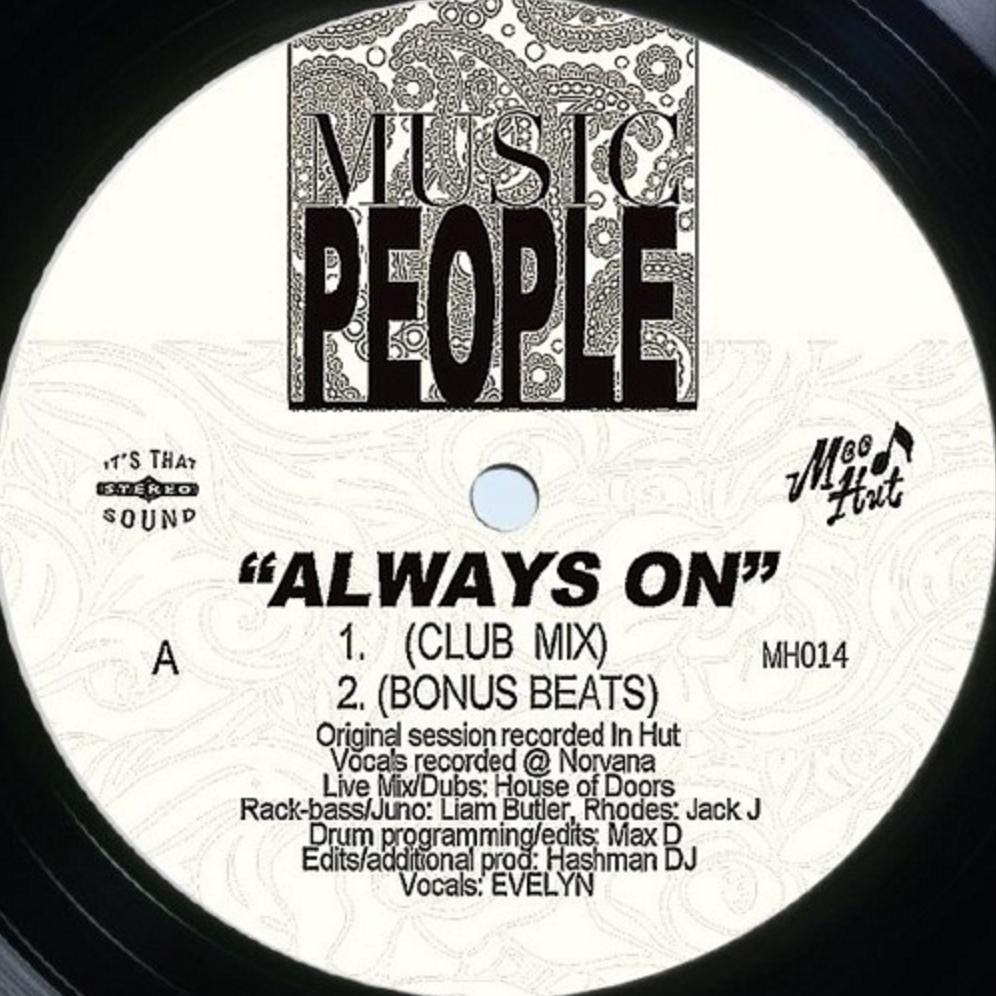 """Music People/ALWAYS ON 12"""""""
