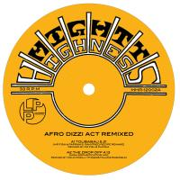 "Afro Dizzi Act/REMIXED EP 12"""