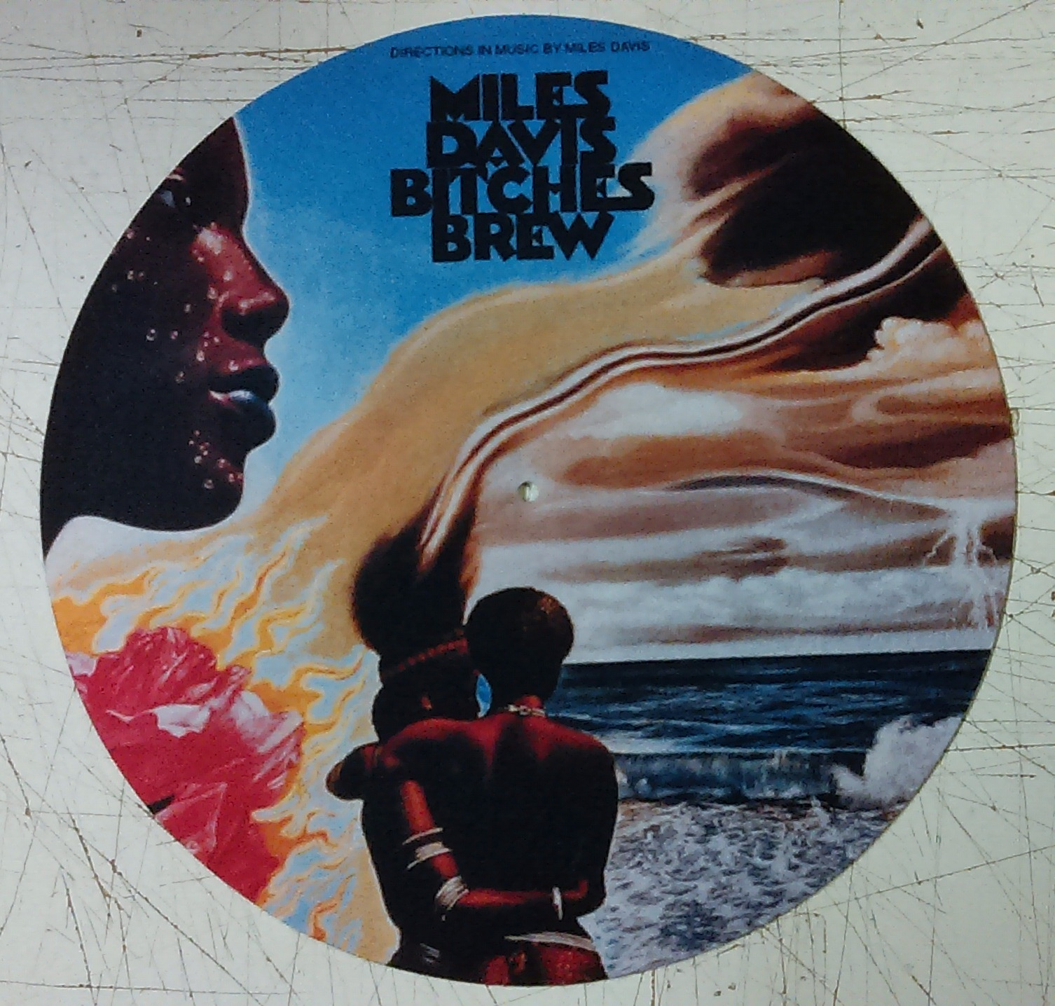 Miles Davis/BITCHES BREW SLIPMAT