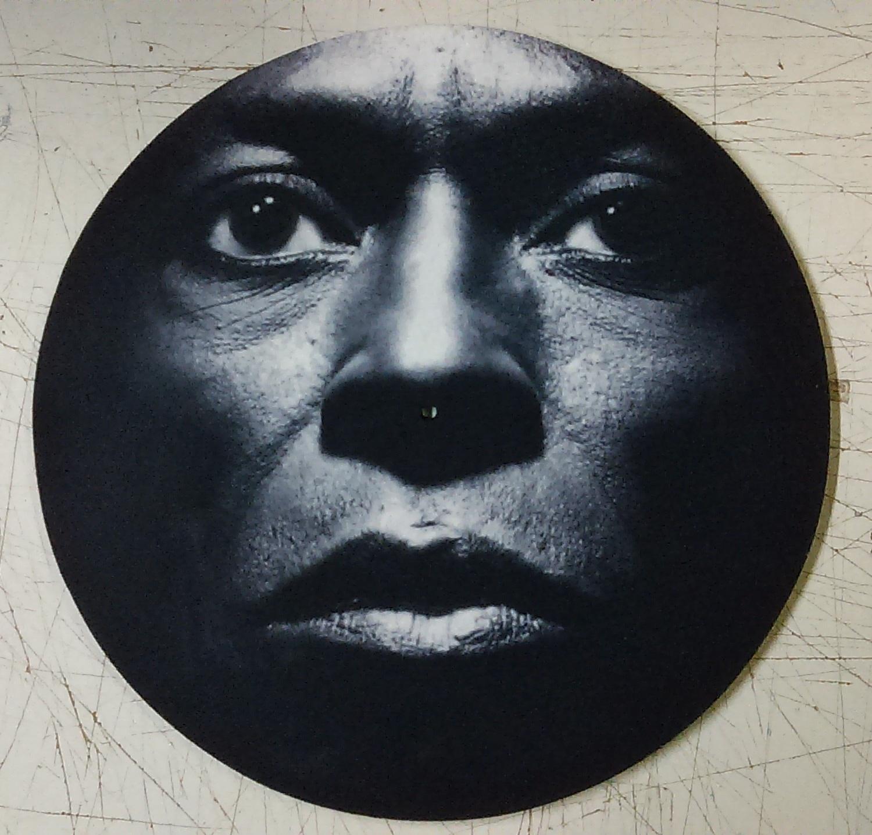 Miles Davis/FACE CLOSEUP SLIPMAT