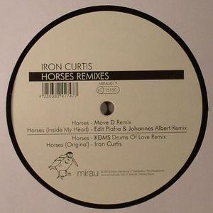 """Iron Curtis/HORSES REMIXES 12"""""""