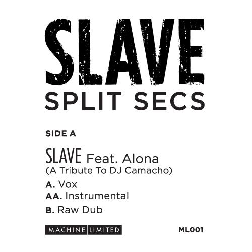 "Split Secs/SLAVE (FEAT. ALONA) 12"""