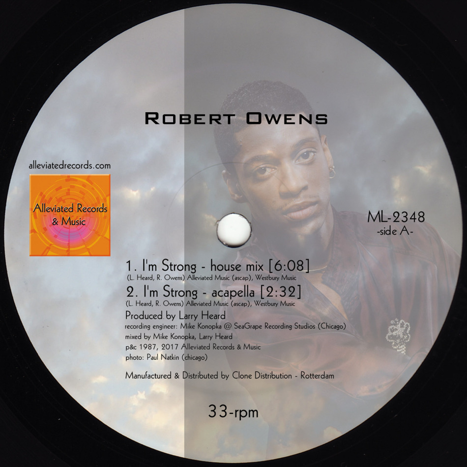 """Mr. Fingers & R Owens/I'M STRONG 12"""""""