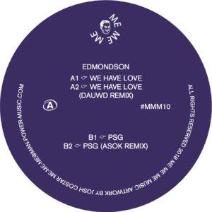 """Edmondson/WE HAVE LOVE 12"""""""