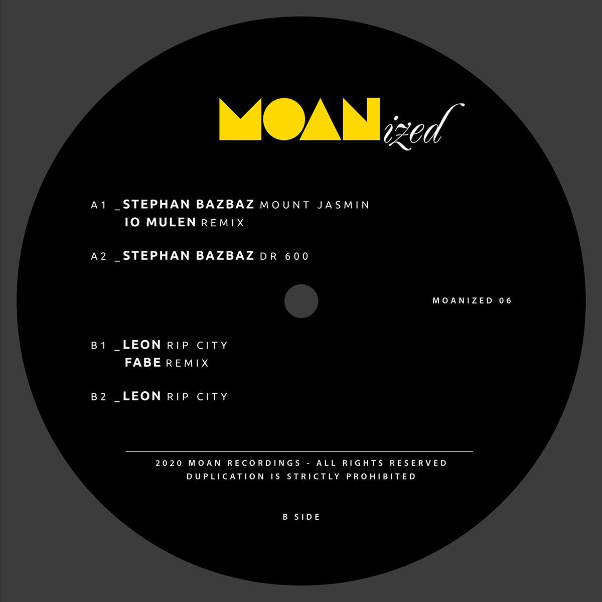 """Stephan Bazbaz & Leon/MOANIZED 06 12"""""""