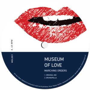 """Museum Of Love/MARCHING ORDERS 12"""""""