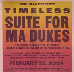 Ma Dukes(J Dilla)/TIMELESS DLP