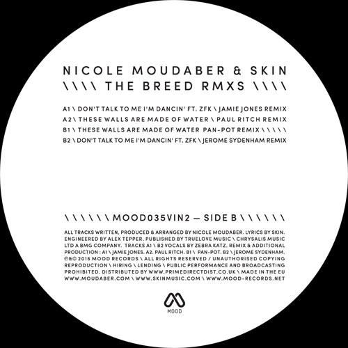 N. Moudaber & Skin/THE BREED RMX #2 12""