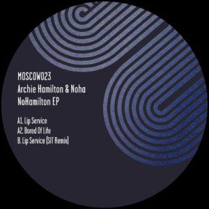 "Archie Hamilton & Noha/NOHAMILTON EP 12"""