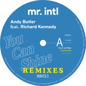 Andy Butler/YOU CAN SHINE REMIXES 12""