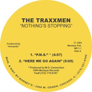 Traxxmen/NOTHING'S STOPPING EP 12""