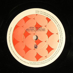 Terry Callier/BROTHER TO BROTHER 7""