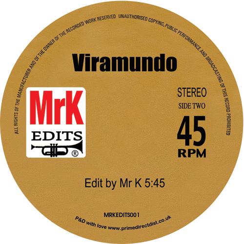 """Danny Krivit/MR. K EDITS VOL. 1 12"""""""