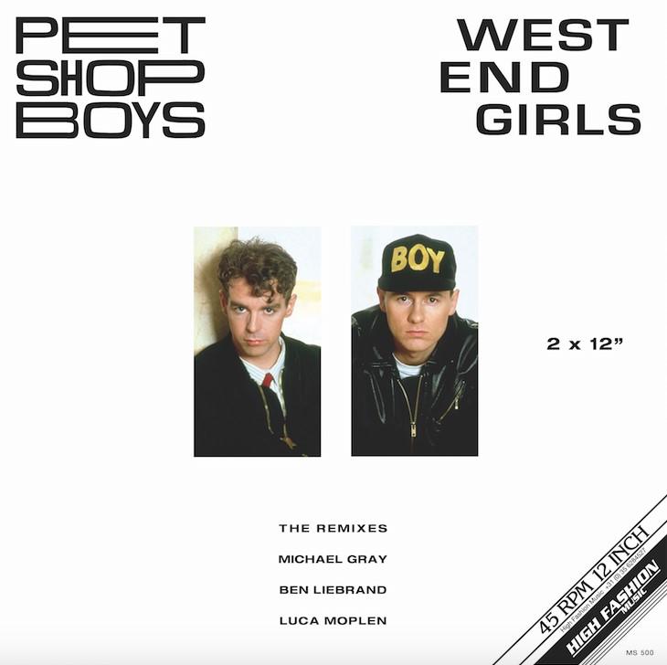 """Pet Shop Boys/WEST END GIRLS (RMXS) D12"""""""