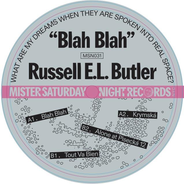 """Russell E.L. Butler/BLAH BLAH 12"""""""