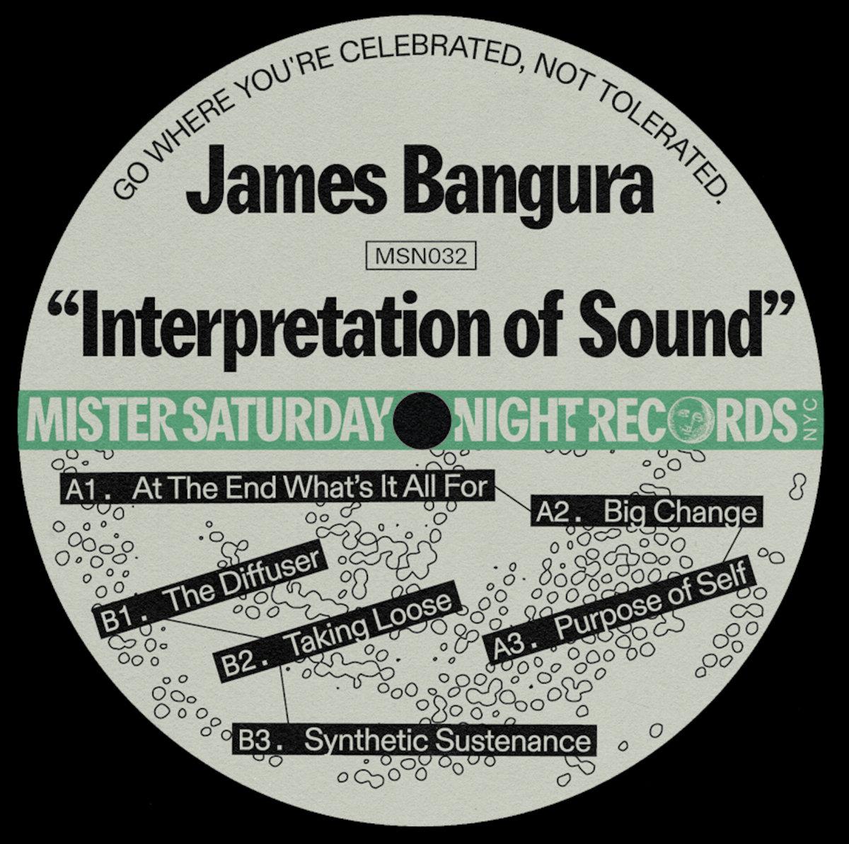 "James Bangura/INTERPRETATION OF... 12"""