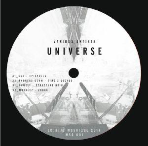 """Various/MOSAIQUE: UNIVERSE 12"""""""