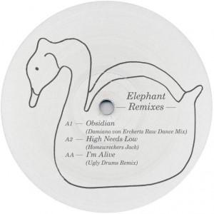"Unknown/MT ELEPHANT REMIXES 12"""