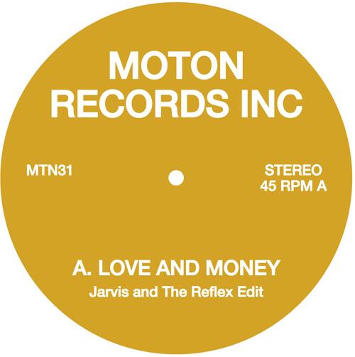 """Moton/LOVE AND MONEY - ON THE RUN 12"""""""
