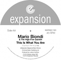 """Mario Biondi/THIS IS WHAT (OPOLOPO) 12"""""""