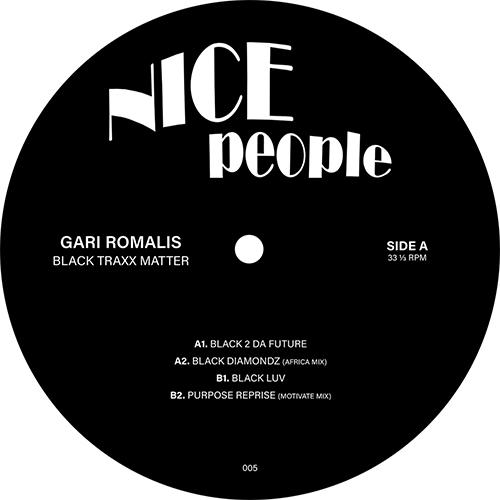 "Gari Romalis/BLACK TRAXX MATTER 12"""