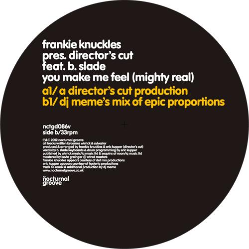 "Frankie Knuckles/YOU MAKE - DJ MEME 12"""