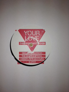 Frankie Knuckles/YOUR LOVE RMX'S #1 12""