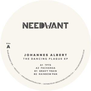 """Johannes Albert/THE DANCING PLAGUE 12"""""""