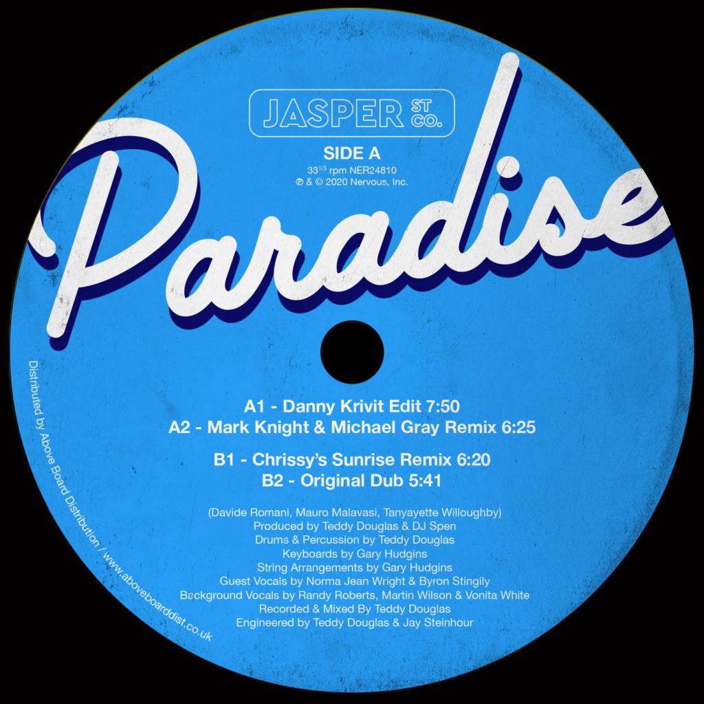 """Jasper St. Co./PARADISE 12"""""""