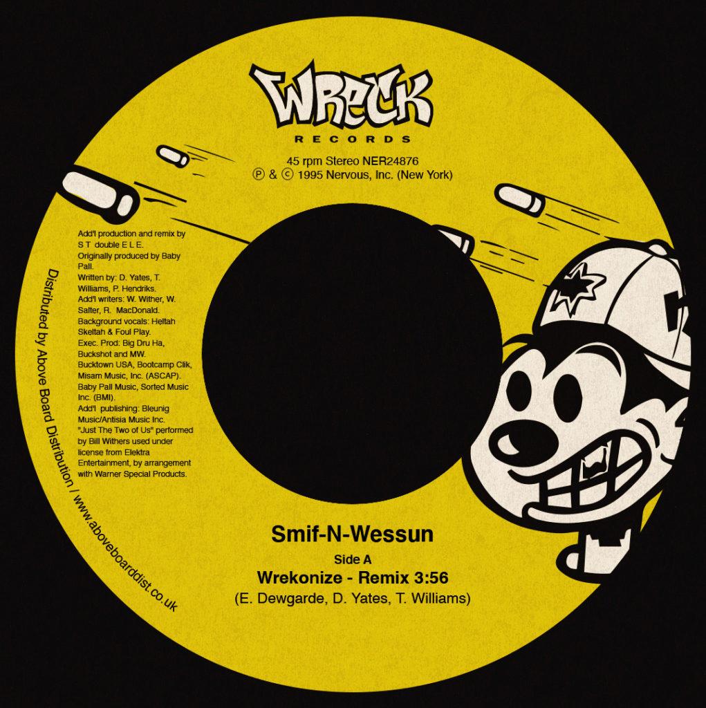 """Smif-N-Wessun/WREKONIZE (REMIX) 7"""""""