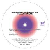 """Patrick Gibin & Kaidi Tatham/LOVE... 12"""""""