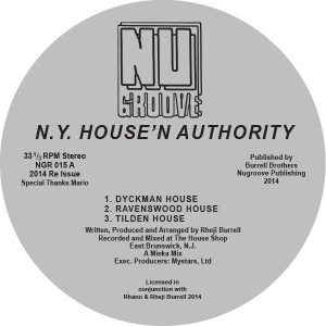 NY House'N Authority/DYCKMAN HOUSE 12""