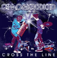 "Camo & Krooked/CROSS THE LINE EP D12"""