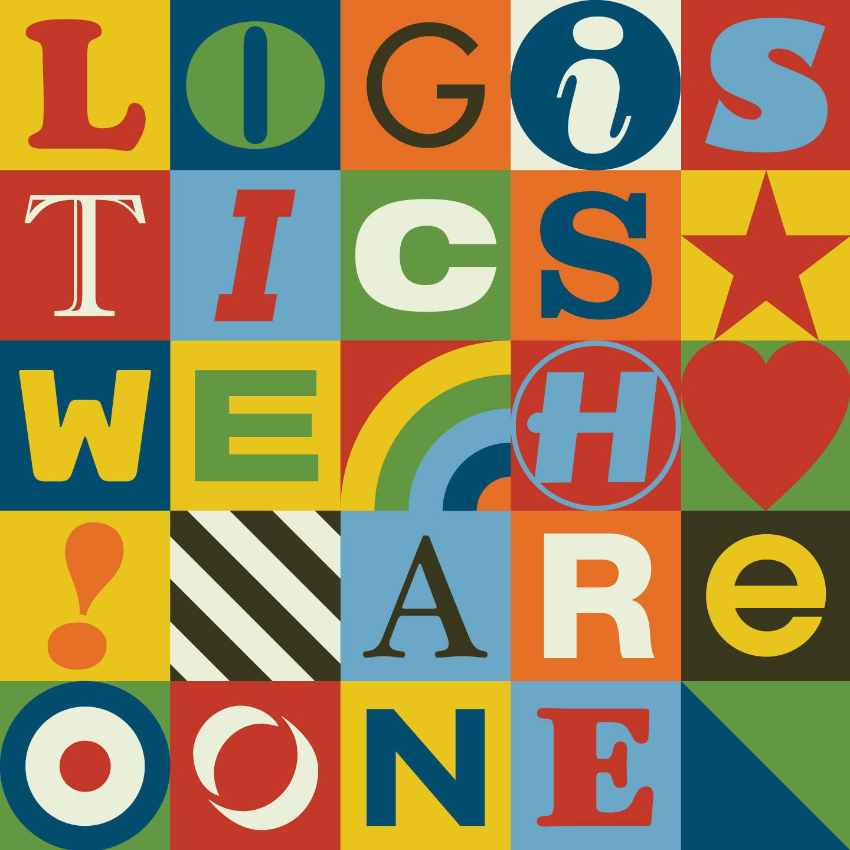 """Logistics/WE ARE ONE (NU:LOGIC RMX) 12"""""""