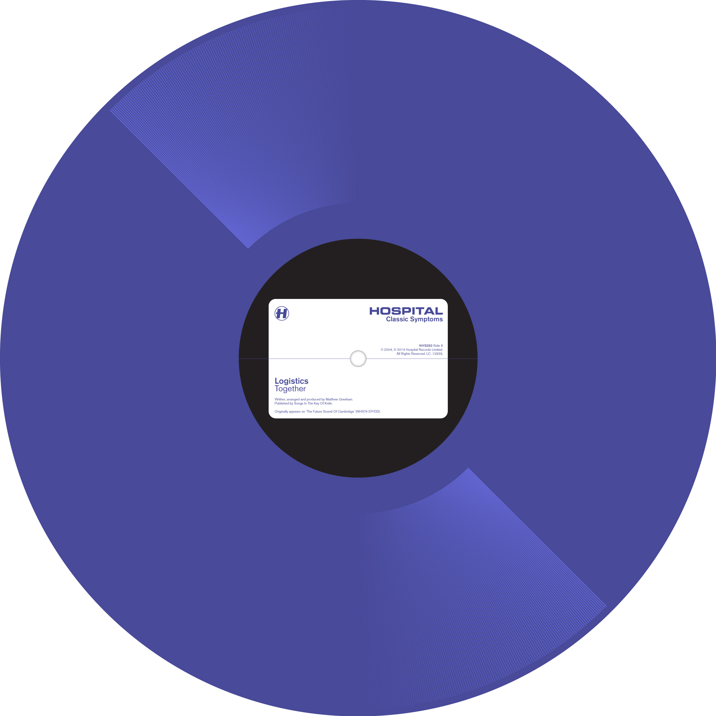 Logistics/TOGETHER (PURPLE VINYL) 12""