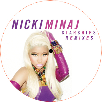Nicki Minaj/STARSHIPS REMIXES 12""