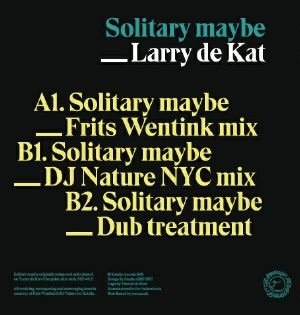 """Larry De Kat/SOLITARY MAYBE 12"""""""