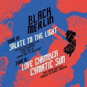 Black Merlin/SALUTE TO THE LIGHT 12""