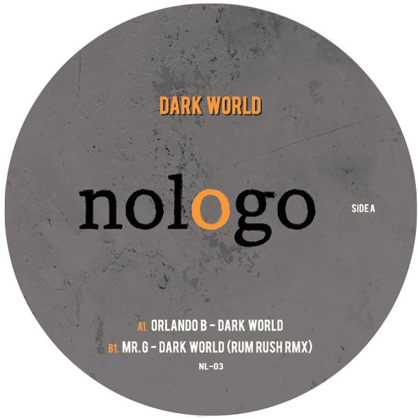 """Orlando B/DARK WORLD (MR. G REMIX) 12"""""""