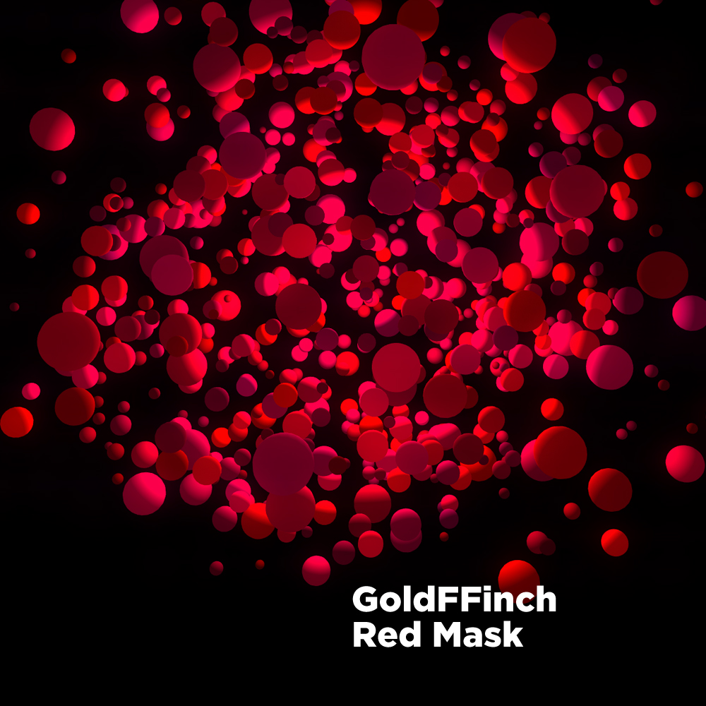 Goldffinch/RED MASK 12""