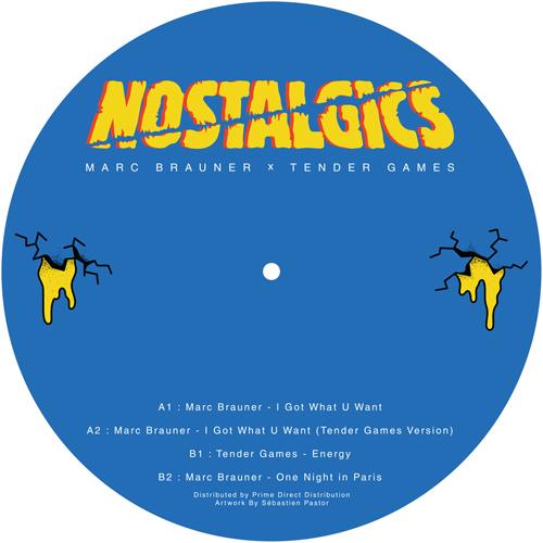 "Marc Brauner & Tender Games/NOS001 12"""