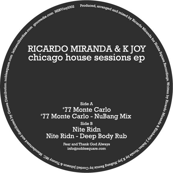"""Ricardo Miranda/CHICAGO HOUSE...12"""""""
