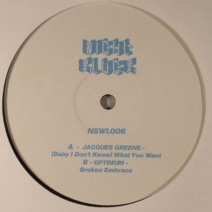 """Jacques Green/WHAT YOU WANT 12"""""""