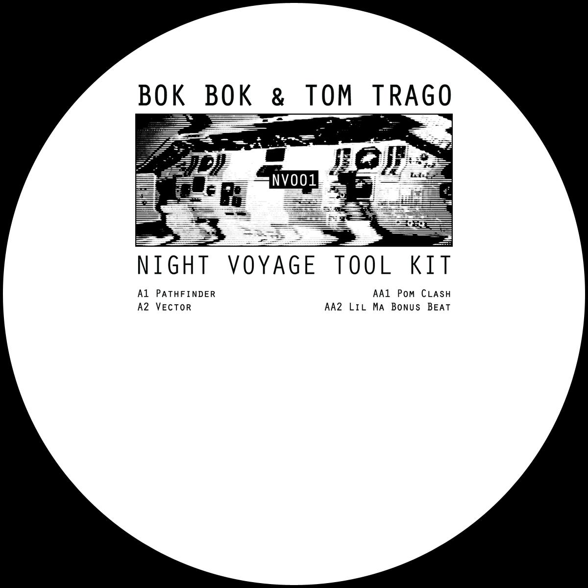 """Bok Bok & Tom Trago/NIGHT VOYAGE... 12"""""""