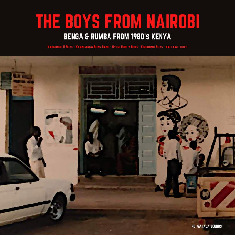 Various/THE BOYS FROM NAIROBI LP