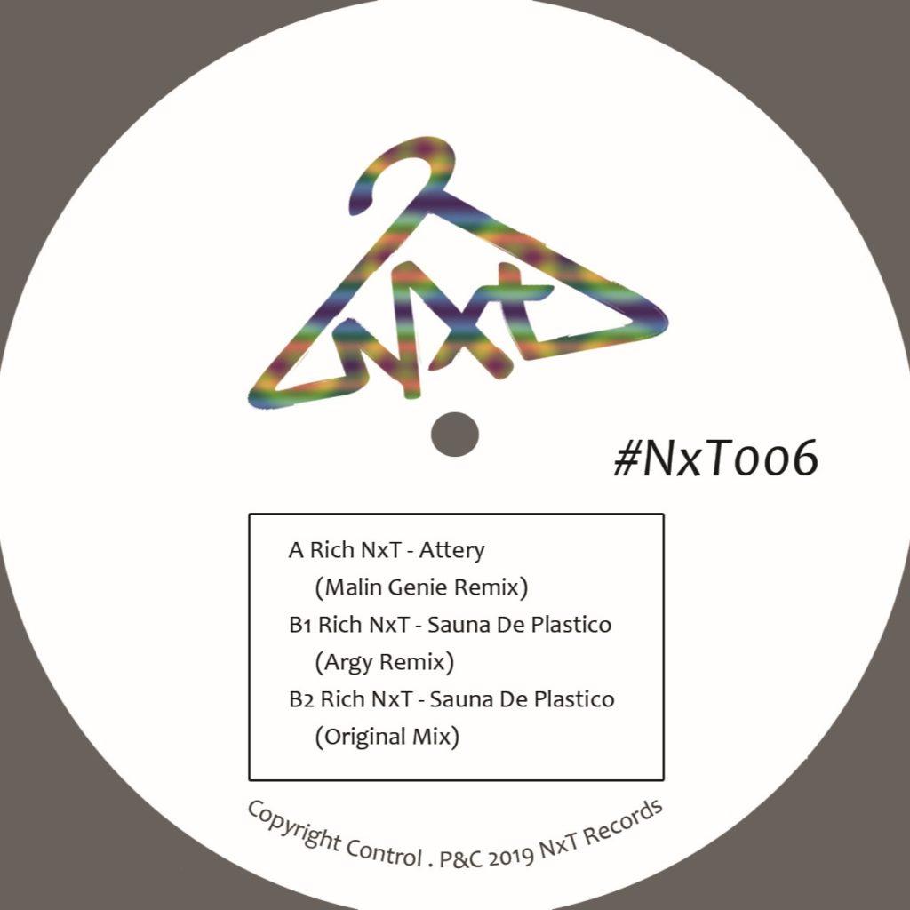 "Rich NxT/ATTERY (MALIN GENIE REMIX) 12"""