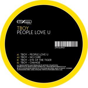 "Tboy/PEOPLE LOVE U 12"""