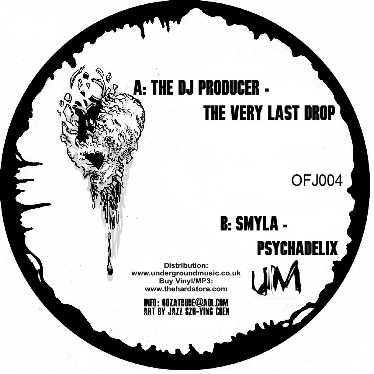 "DJ Producer/THE VERY LAST DROP 12"""